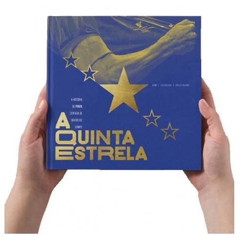 Livro - A Quinta Estrela - Copa Do Brasil Cruzeiro