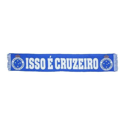 Faixa/cachecol Oficial Licenciado - Isso É Cruzeiro