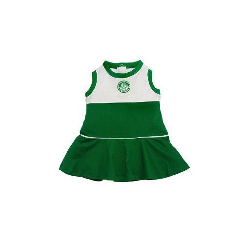 Vestido Bebê Palmeiras Regata Oficial