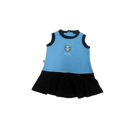 Vestido Bebê Grêmio Regata Oficial