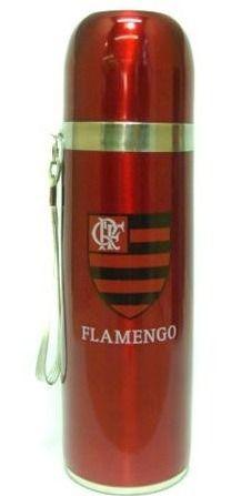 Garrafa Térmica Inox - Flamengo