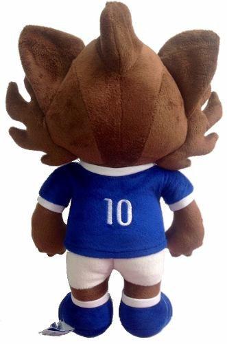 Mascote Raposinho De Pelúcia Cruzeiro - Oficial