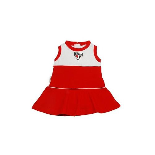 Vestido Bebê São Paulo Regata Oficial
