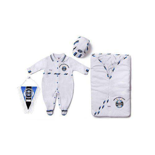 Kit Saída Maternidade Sport Luxo Grêmio