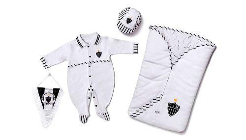 Kit Saída Maternidade Sport Luxo Atlético Mineiro