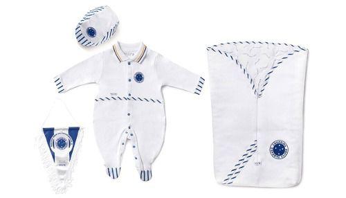 Kit Saída Maternidade Sport Luxo Cruzeiro
