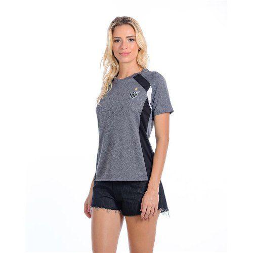 Camiseta Adulto Raglan Feminina Victor Atlético Mineiro