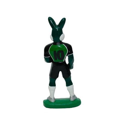 Mascote Do América Mineiro - Resina - 13 Cm.