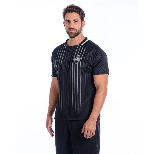Camisa Atlético Mineiro Masculina Dry Raglan