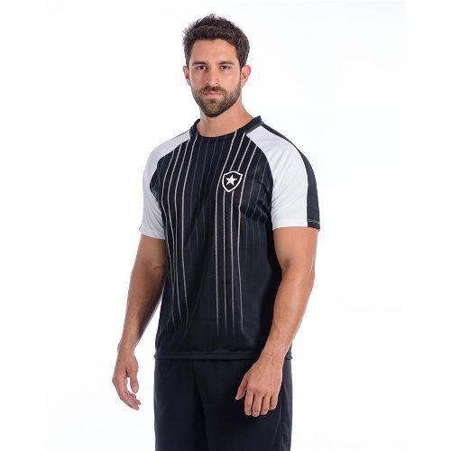 Camisa Botafogo Masculina Dry Raglan