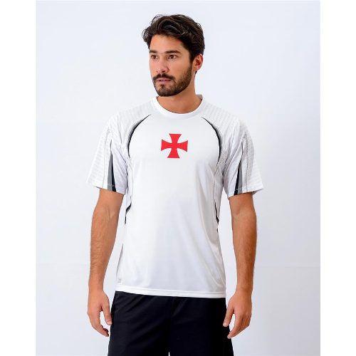 Camisa Vasco Masculina Cruz De Malta