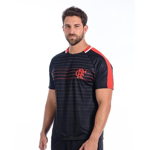 Camisa Flamengo Masculina Dry Raglan