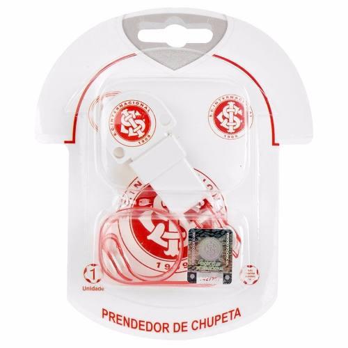 Prendedor De Chupeta Do Internacional + Prendedor De Chupeta