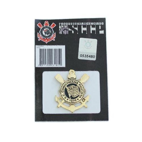 Boton Broche Pin Do Corinthians Produto Oficial
