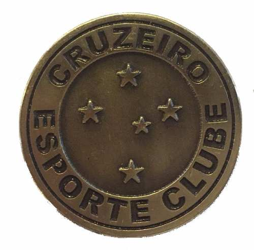 Moeda Cruzeiro Penta Campeonato Final Copa Do Brasil 2017