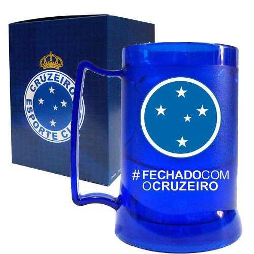 Caneca Gel Cruzeiro - Fechado Com O Cruzeiro