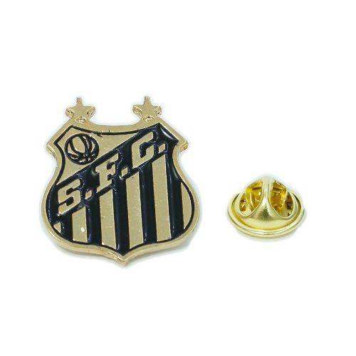 Boton Broche Pin Do Santos Produto Oficial