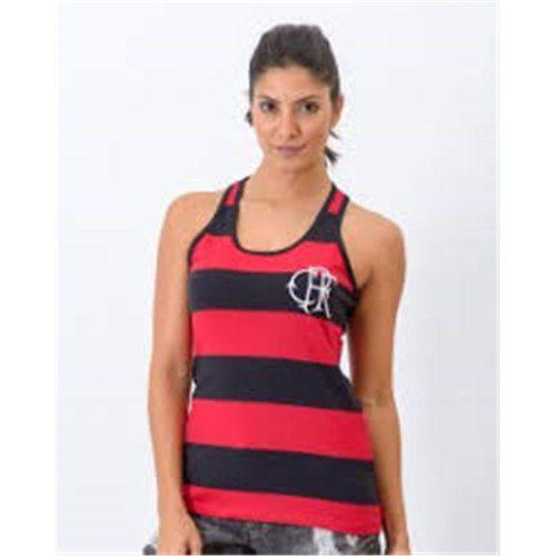 Camisa Flamengo Retro Feminina Regata