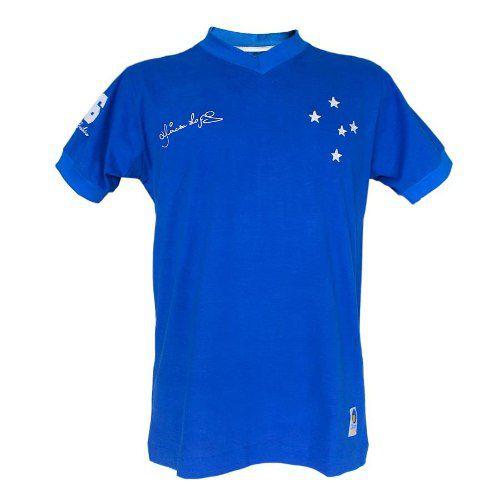 Camisa Infantil Retrô Dirceu Lopes Cruzeiro 1966