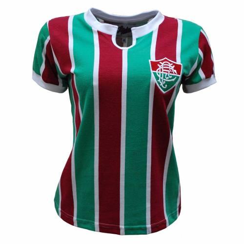 Camisa Retrô Fluminense 1976 Feminino