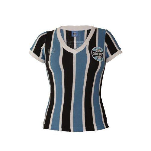Camisa Feminina Retrô 1983 Grêmio