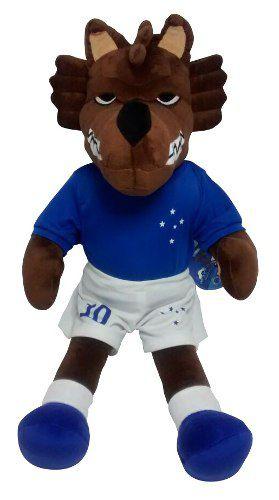 Mascote Oficial Cruzeiro Raposão Pelúcia