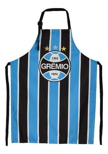 Avental Churrasqueiro Listrado Grêmio