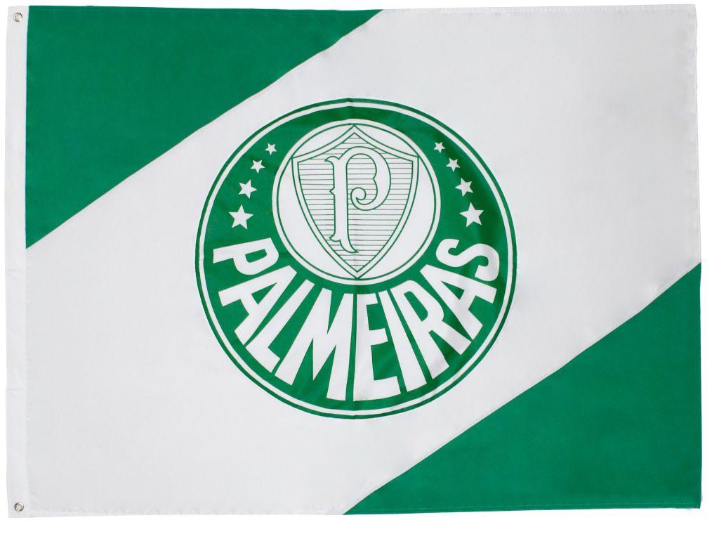 Bandeira Oficial - 3 Panos 1,92 X 1,35 Cm Palmeiras
