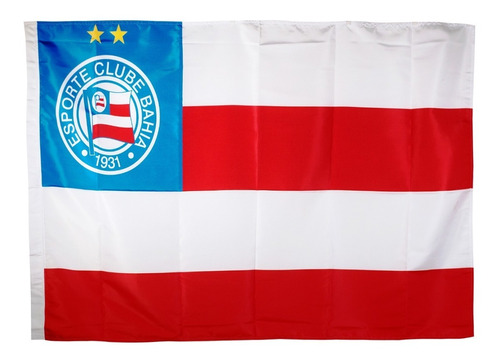 Bandeira Oficial - Torcedor 1,30 X 0,90 Cm Bahia