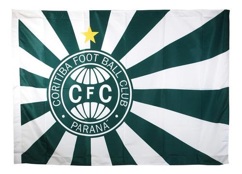 Bandeira Oficial - Torcedor 1,30 X 0,90 Cm Coritiba