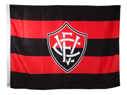 Bandeira Oficial - Torcedor 1,30 X 0,90 Cm Vitória