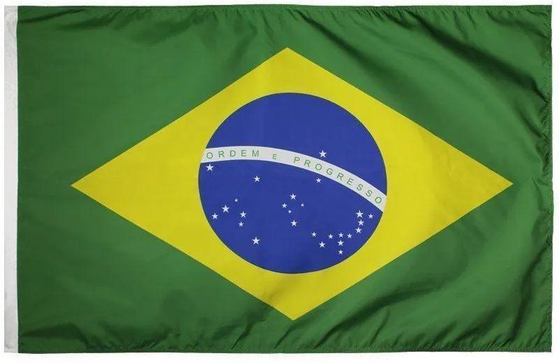 Bandeira Oficial Tradicional - 1,60 X 1,12 Cm. Brasil