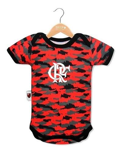Body Básico Camuflado Unissex Flamengo
