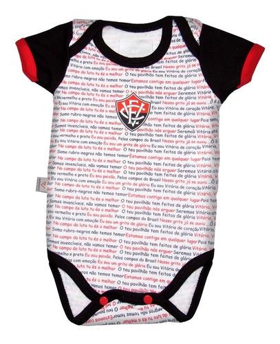 Body Bebê Vitória Frase Oficial