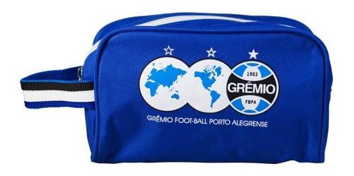 Bolsa Nécessaire Grêmio Azul Produto Oficial