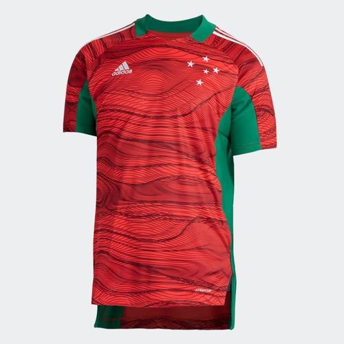 Camisa Adidas Masculina Goleiro 1 Cruzeiro 21/22