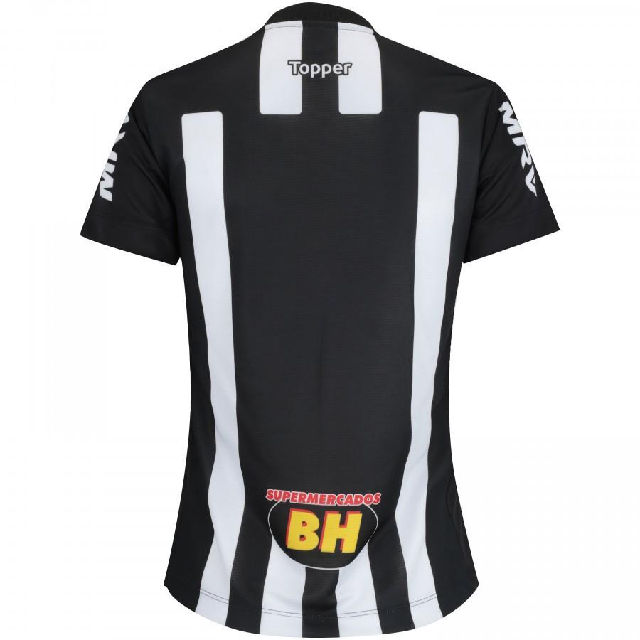 Camisa Do Atlético-mg 2018 Topper - Feminina