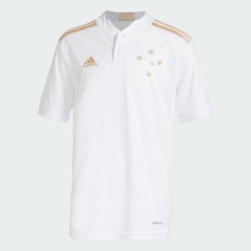 Camisa Infantil Unissex Oficial 2 Adidas Centenário Cruzeiro 2021