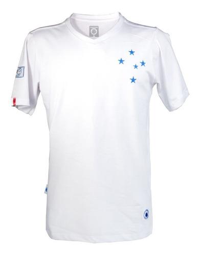 Camisa Masculina Branca Retrô 1921 Centenário Do Cruzeiro