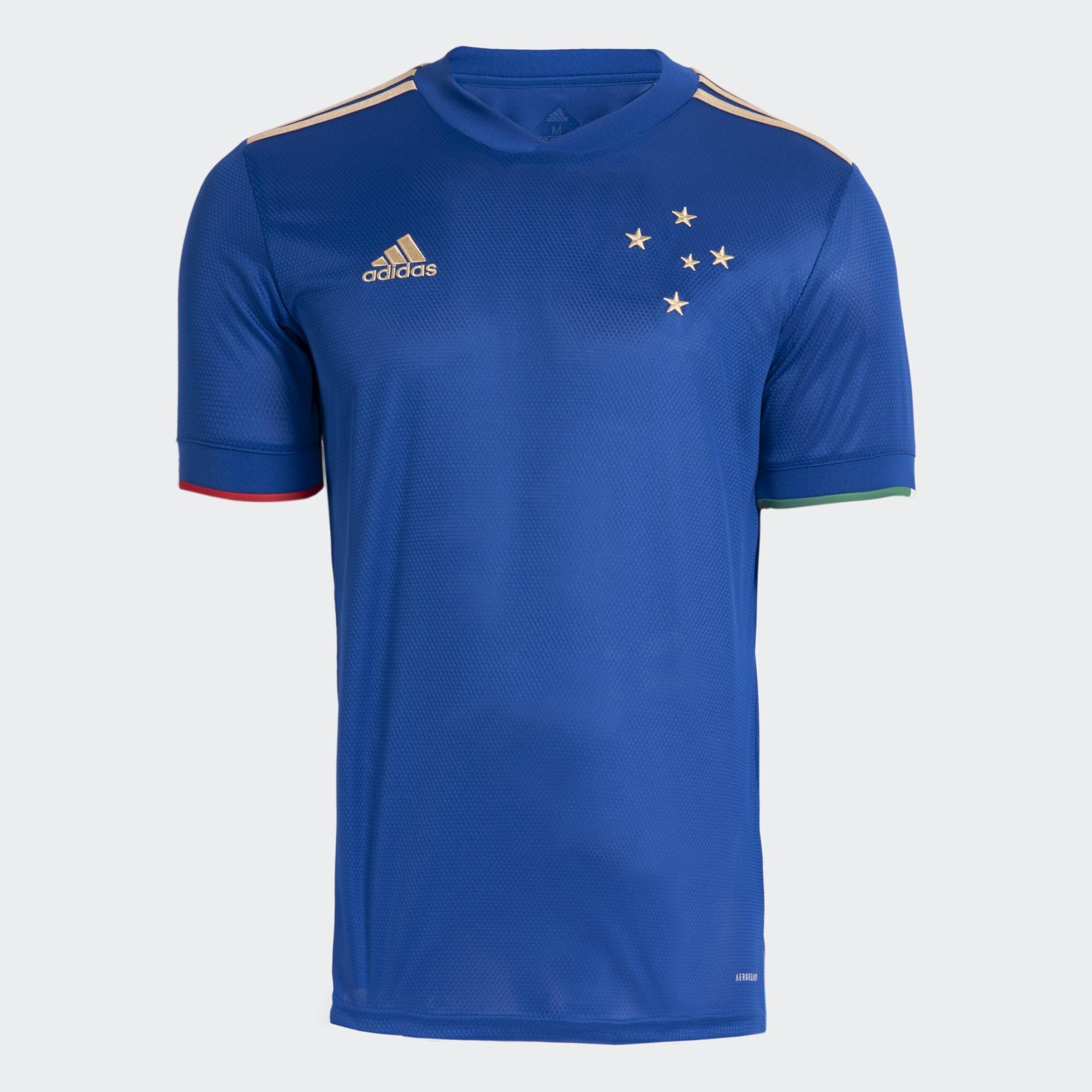 Camisa Masculina Oficial 1 Adidas Centenário Cruzeiro