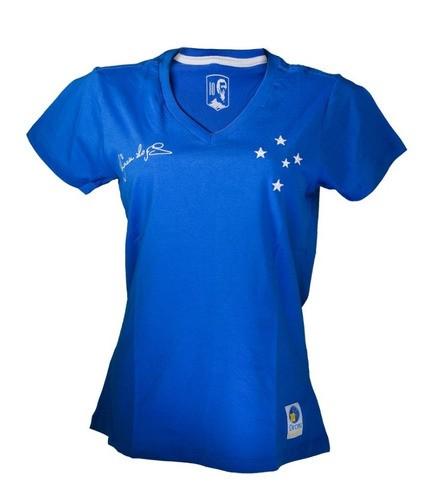 Camisa Retro Azul Feminina Príncipe Dirceu Lopes