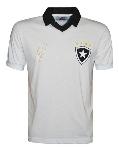 Camisa Retrô Botafogo 1989 Masculino Branca