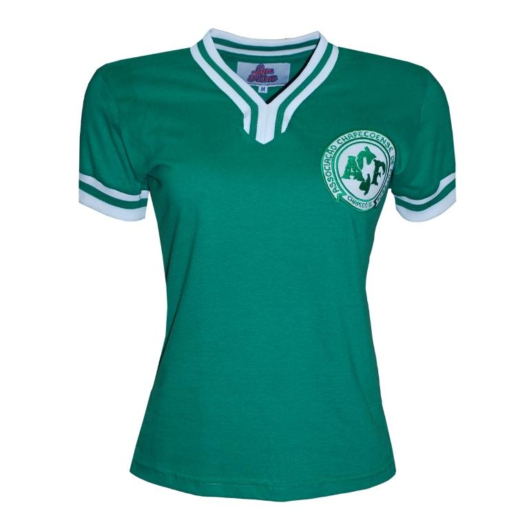Camisa Retro Chapecoense 1977 Feminina