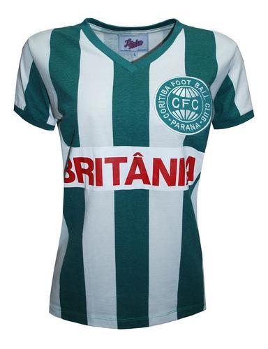Camisa Retrô Coritiba 1985 Feminina