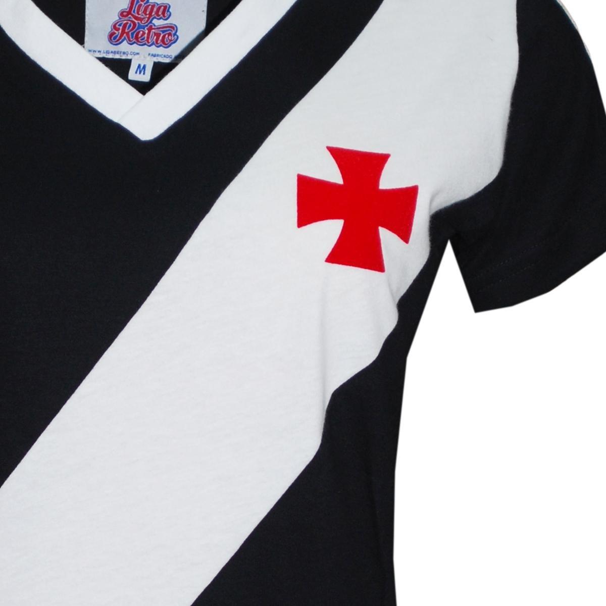 Camisa Retrô Feminina Vasco 1989