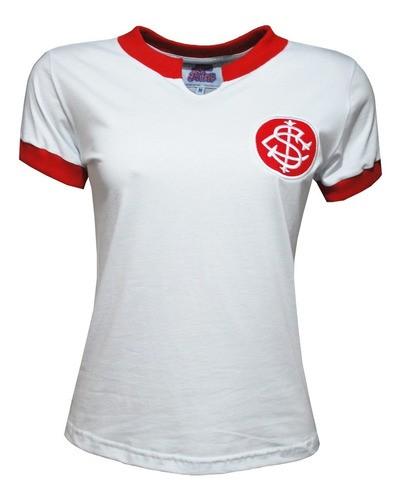 Camisa Retrô Internacional 1976 Feminina
