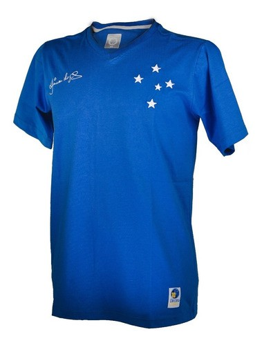 Camisa Retro Masculina Principe Dirceu Lopes Cruzeiro