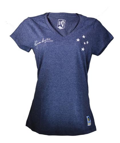 Camiseta Feminina Retro Cruzeiro Lopes Vintage