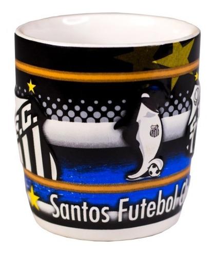 Caneca 350 Ml Cerâmica Santos