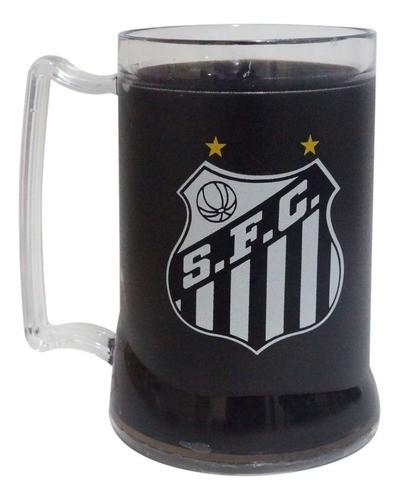Caneca Chopp Gel Preto Santos